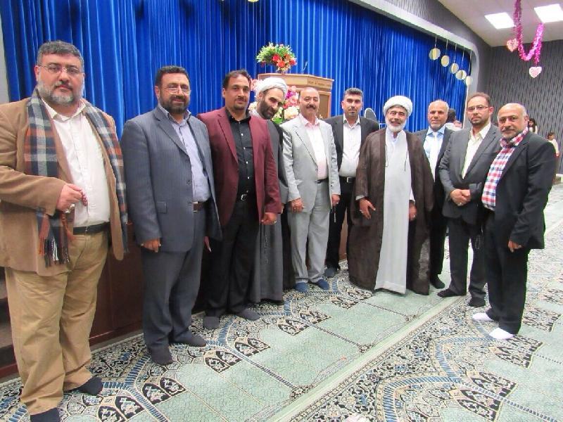گزارش تصویری 5 / حضور اعضای شورای علمی دین پژوهان کشور در جشن میلاد امام زمان (عج) در مرکز اسلامی سوئد