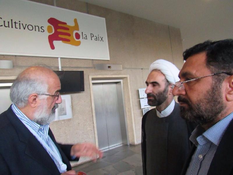 دیدار و گفتگوى  اعضای شورای علمى دین پژوهان كشور در سازمان یونسکو