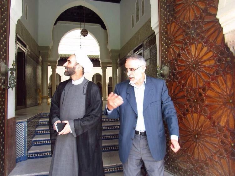 گزارش تصویری 7 / بازدید اعضای شورای دین پژوهان از مسجد جامع و بزرگ پاریس